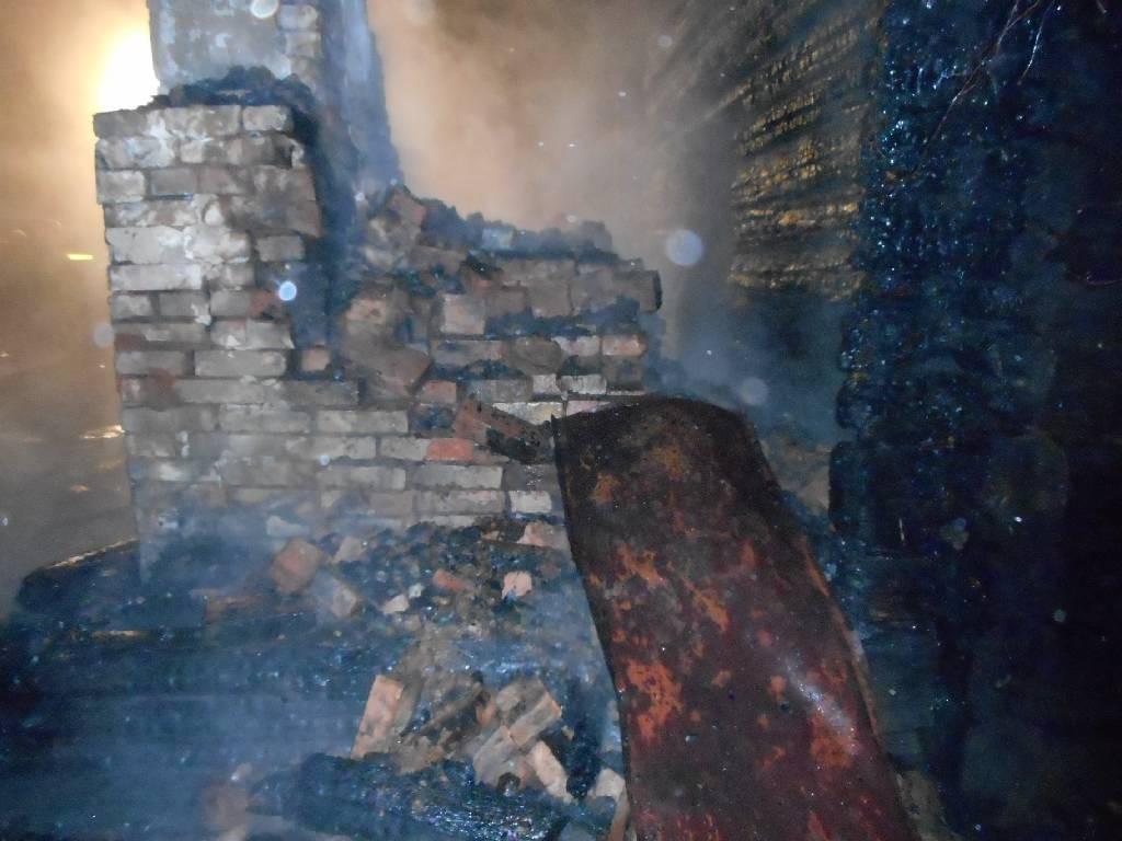 Горел дом в деревне Дворище Бобруйского района