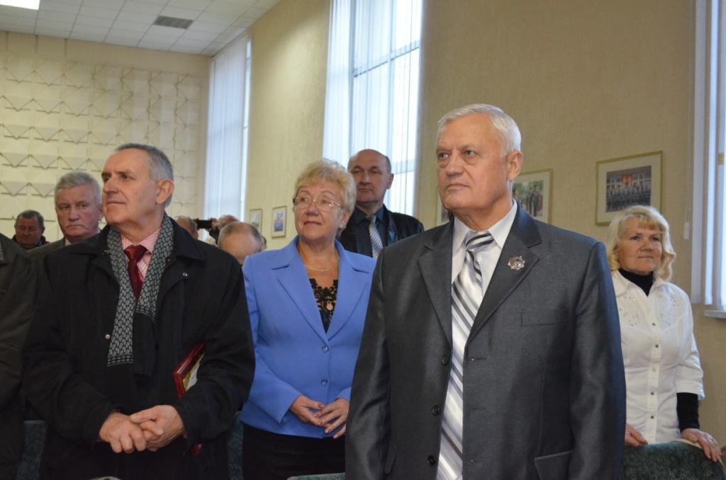 В УВД Бобруйска чествовали ветеранов милиции