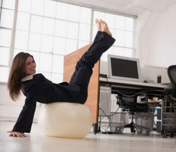 Как совместить работу в офисе и здоровый образ жизни
