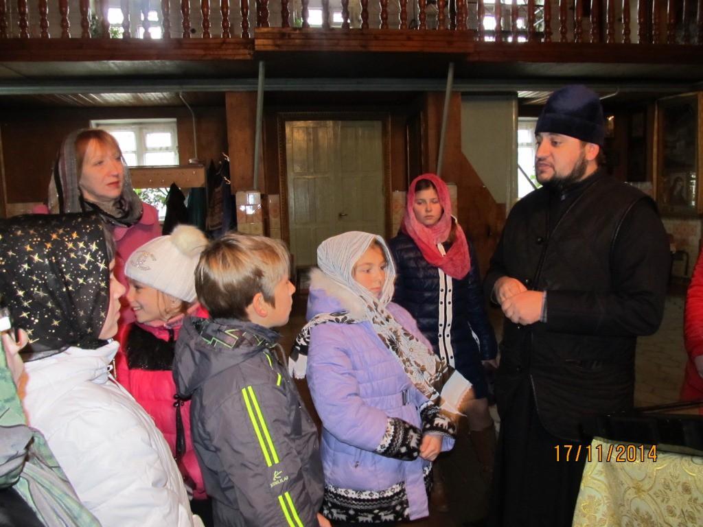 Школьники в гостях у Николо-Софийского храма