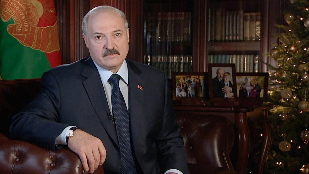 Новогоднее обращение Александра Лукашенко к белорусскому народу