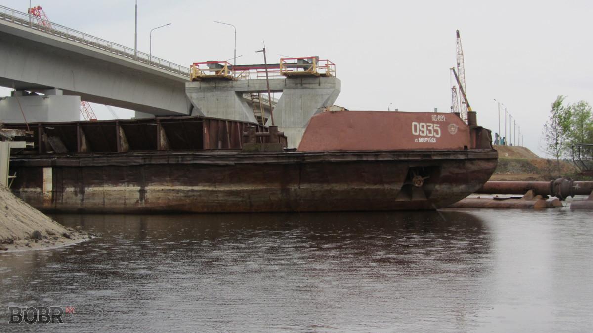 Работы на Щатковском мосту