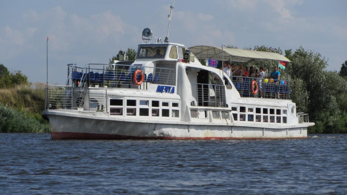 Бобруйская «Мечта» отправилась в плавание по Березине