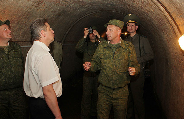 Мэр Бобруйска вспомнил службу в армии