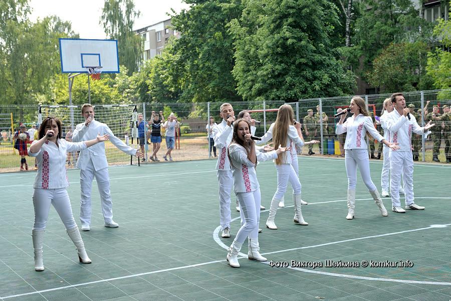 Спортивная площадка открылась в Киселевичах