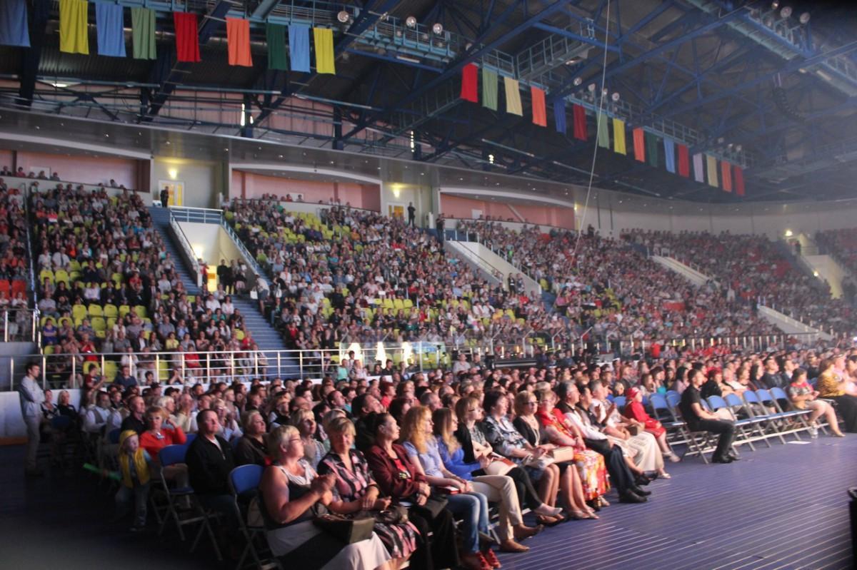 Торжественное открытие Международного фестиваля «Венок дружбы»