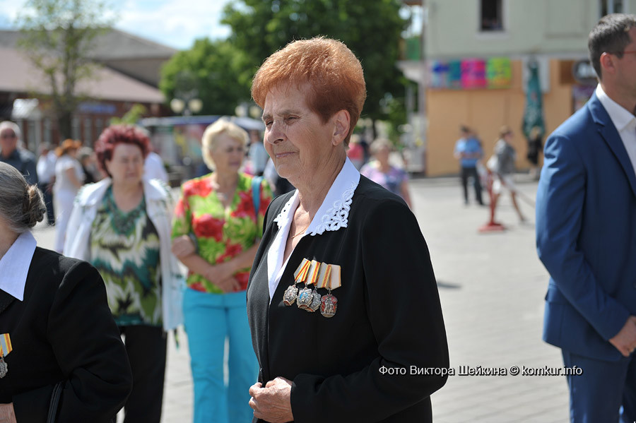 В понедельник, 29 июня, на площади Победы почтили память воинов, павших в боях за освобождение Бобруйска