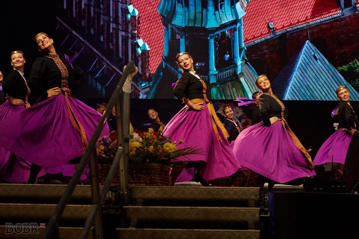 Международный фестиваль народного творчества «Венок дружбы 2015». Открытие.