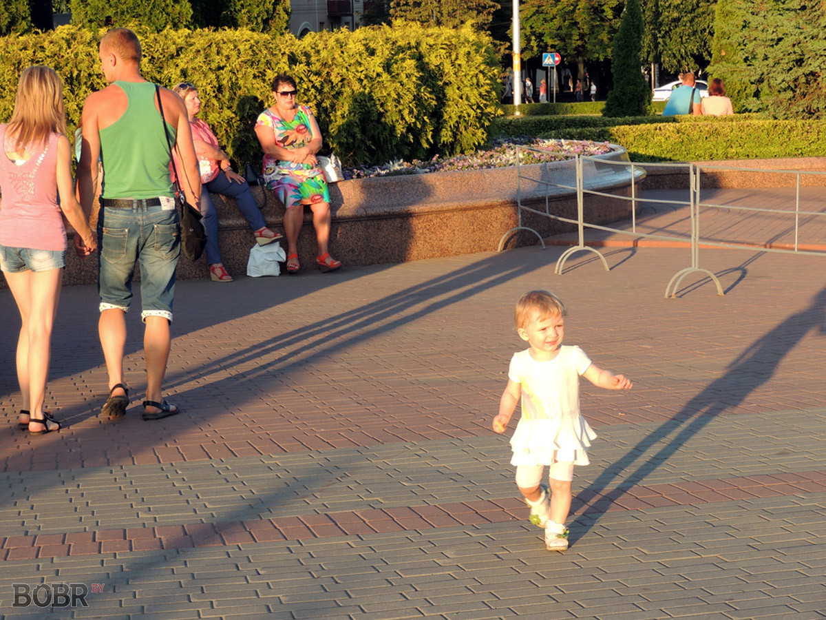 Бобруйчане отпраздновали День Независимости Республики Беларусь