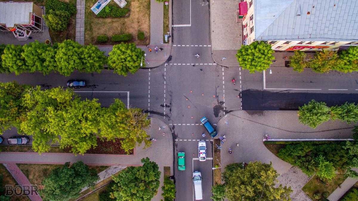 Авария на перекрёстке улиц Интернациональная и Социалистическая