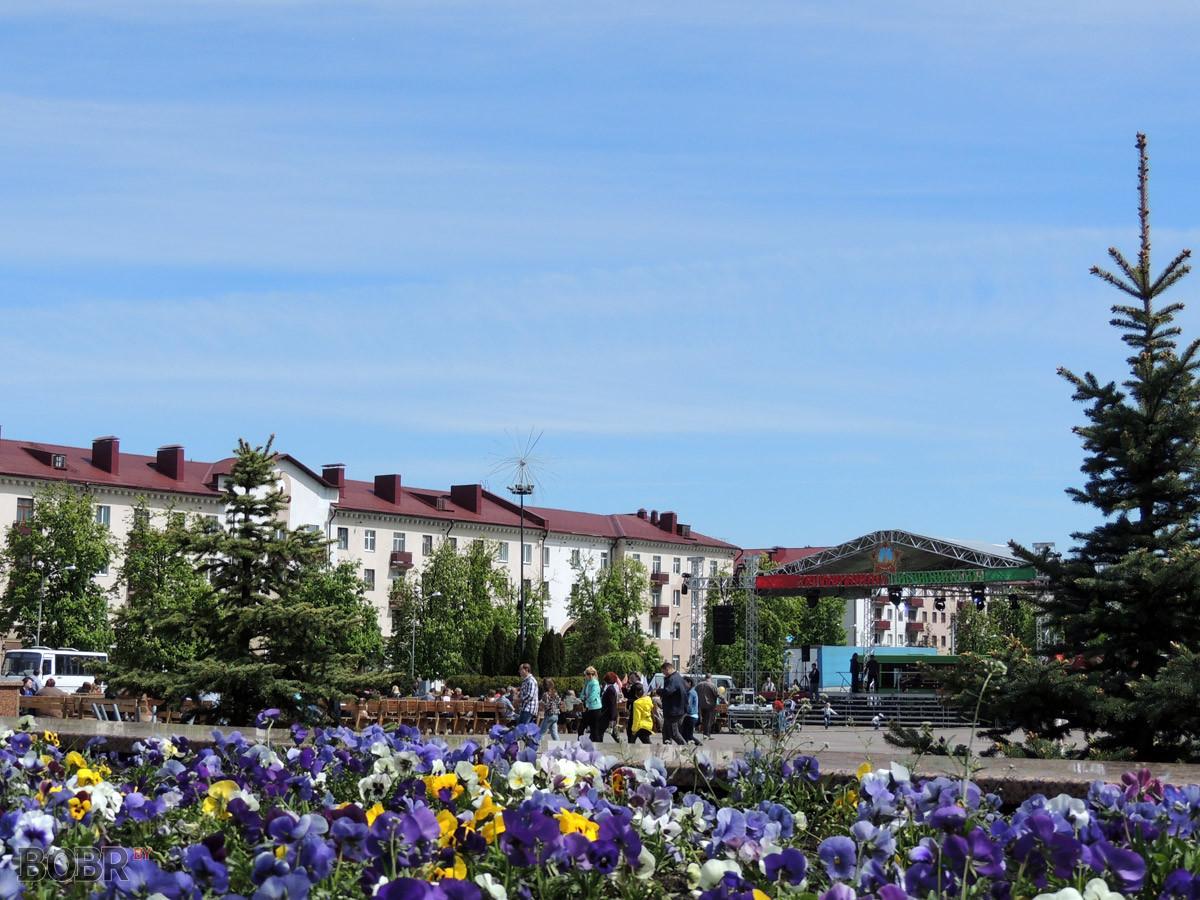 Бобруйск по итогам 2014 года обошел Могилев в областном конкурсе по благоустройству