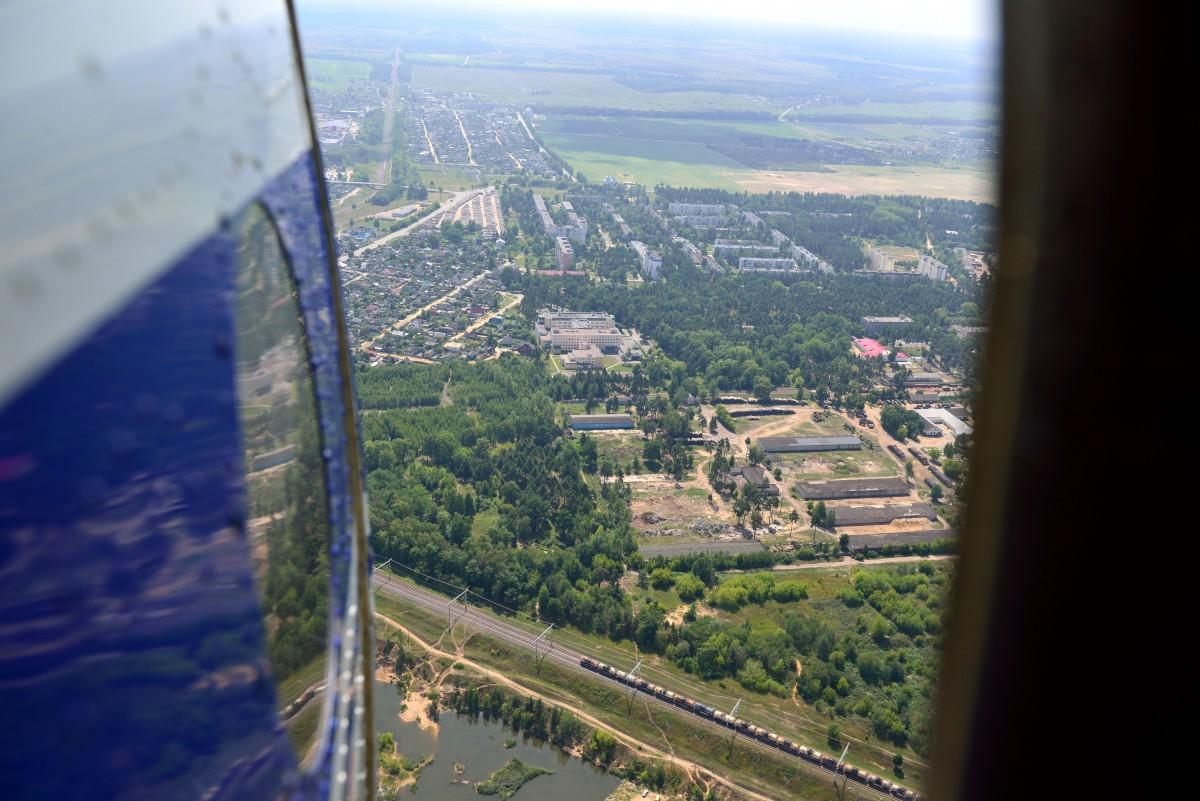 Взгляд сверху: Бобруйск. Шикарный вид Бобруйска с высоты.