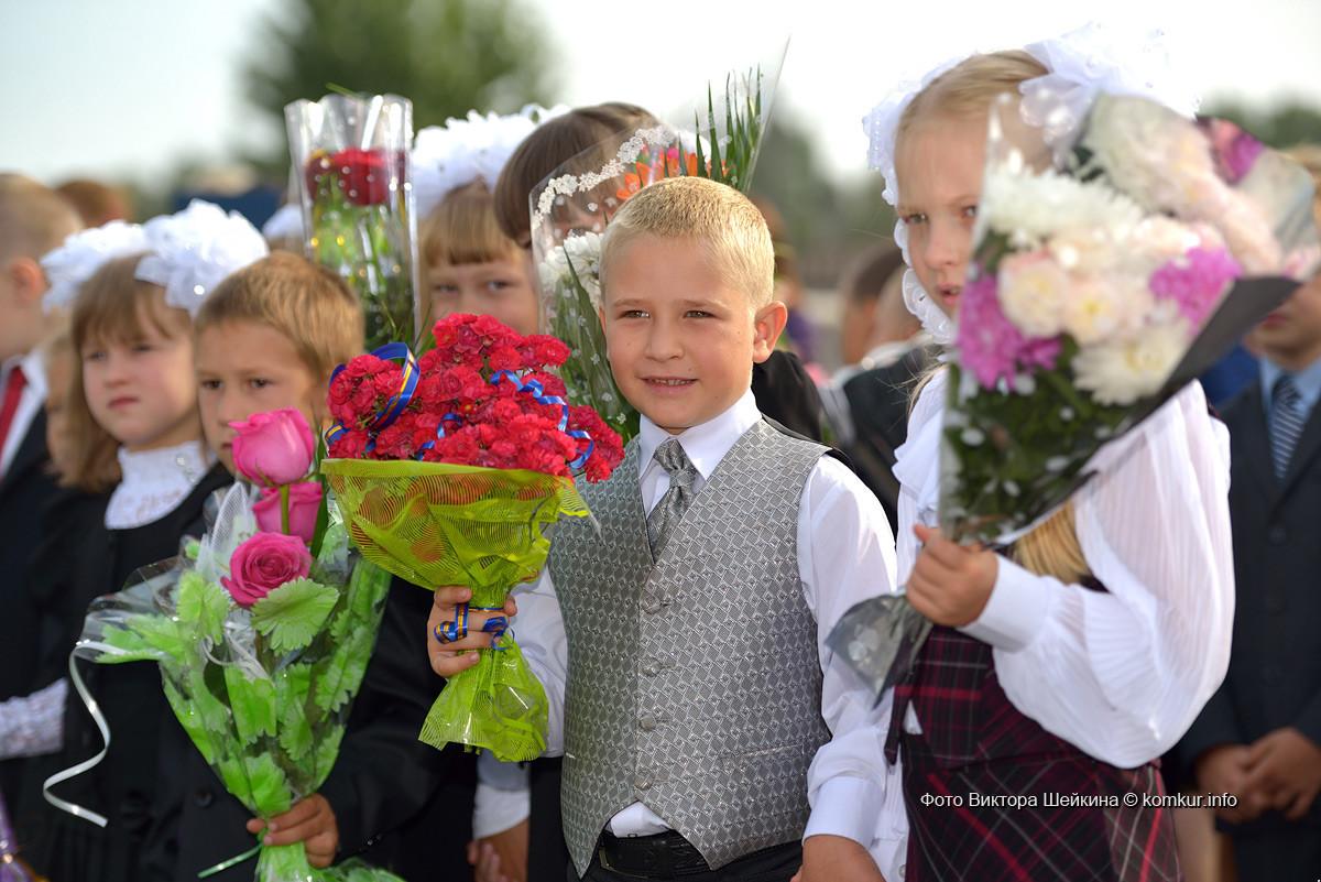 1 сентября в школе №29 г. Бобруйска. Фоторепортаж.