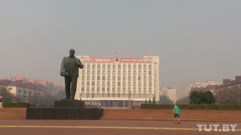 Вторые сутки Бобруйск в дыму. Что горит?
