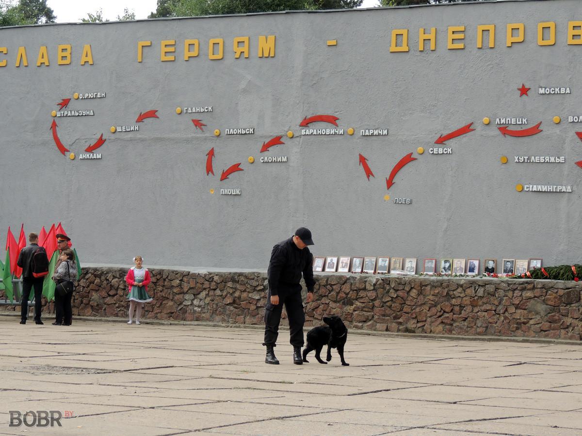 День танкиста в Бобруйске