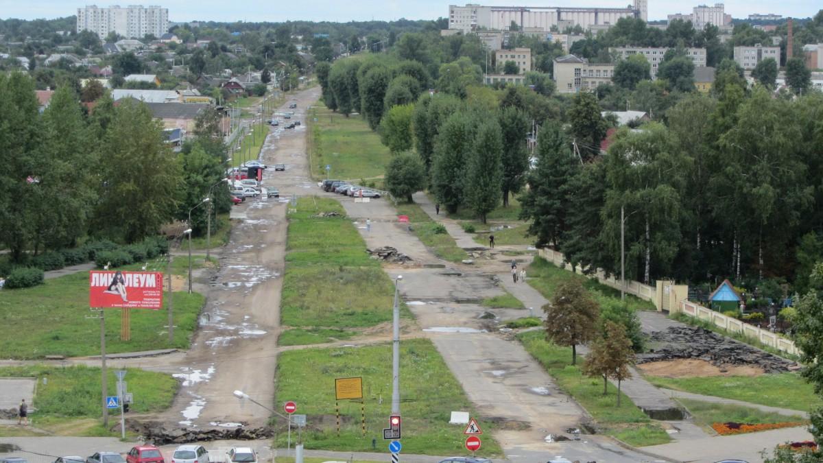 Завершен капитальный ремонт улицы Крылова