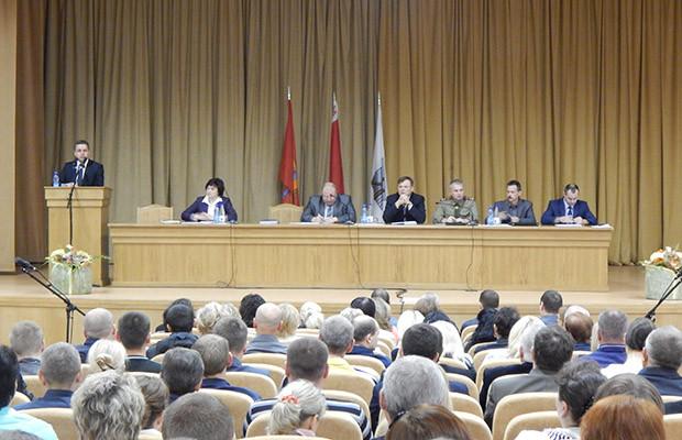 Председатель горисполкома встретился с работниками «Белшины»