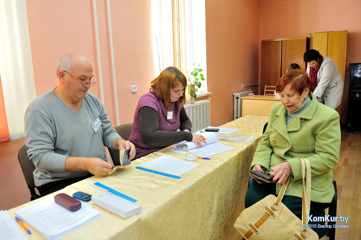 Досрочное голосование в Бобруйске