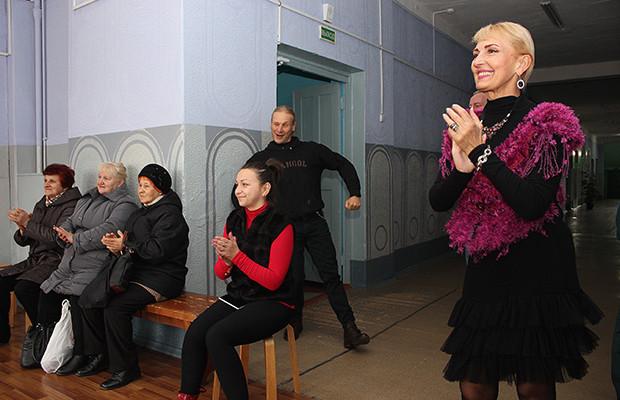актеры перед избирателями