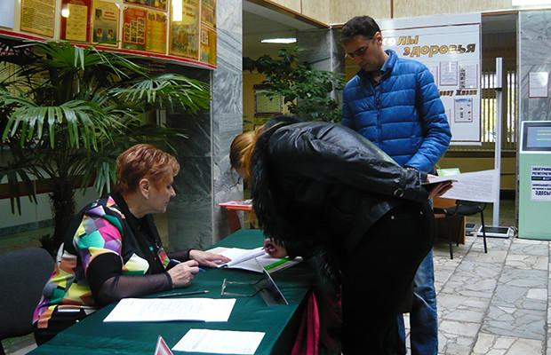 Избиратели участка №90 могут поучаствовать в акции «Узнай свое здоровье»