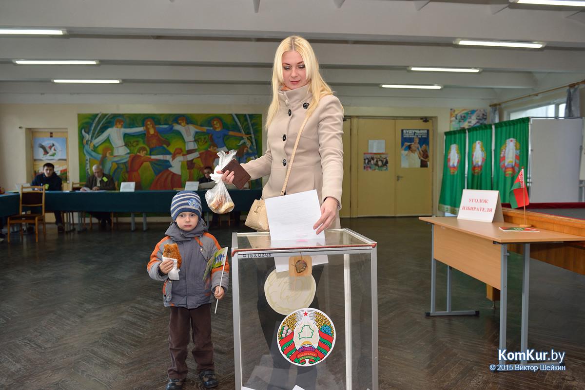 Бобруйск выбирает президента