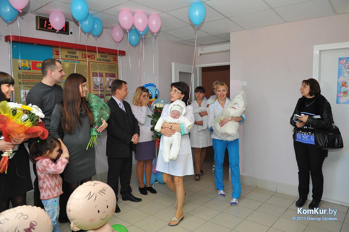 В новом корпусе роддома родился пятитысячный ребенок!