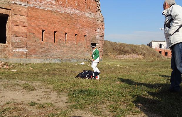 Реконструкция боевого сражения на территории Бобруйской крепости