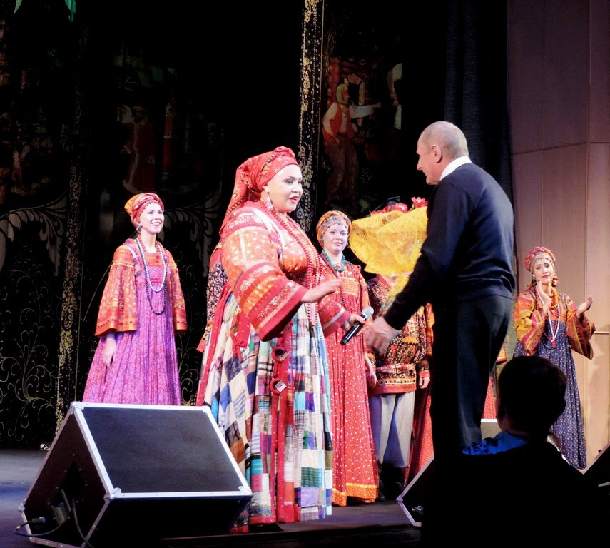 В Бобруйске прошел концерт Надежды Бабкиной