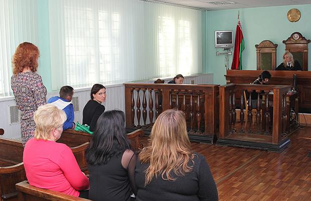 В Бобруйске 28 октября состоялось очередное слушание суда по делу об отобрании детей у Анастасии Навоевой и лишении отца Геннадия Горленко родительских прав.