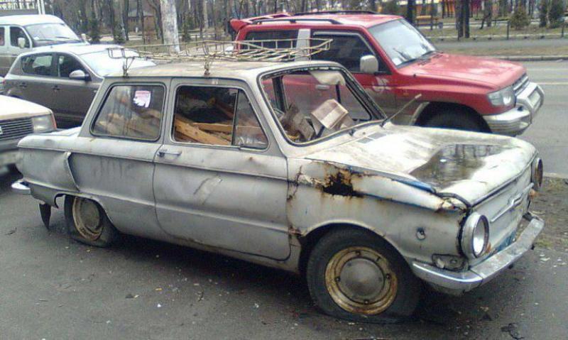 В Бобруйске уберут автохлам