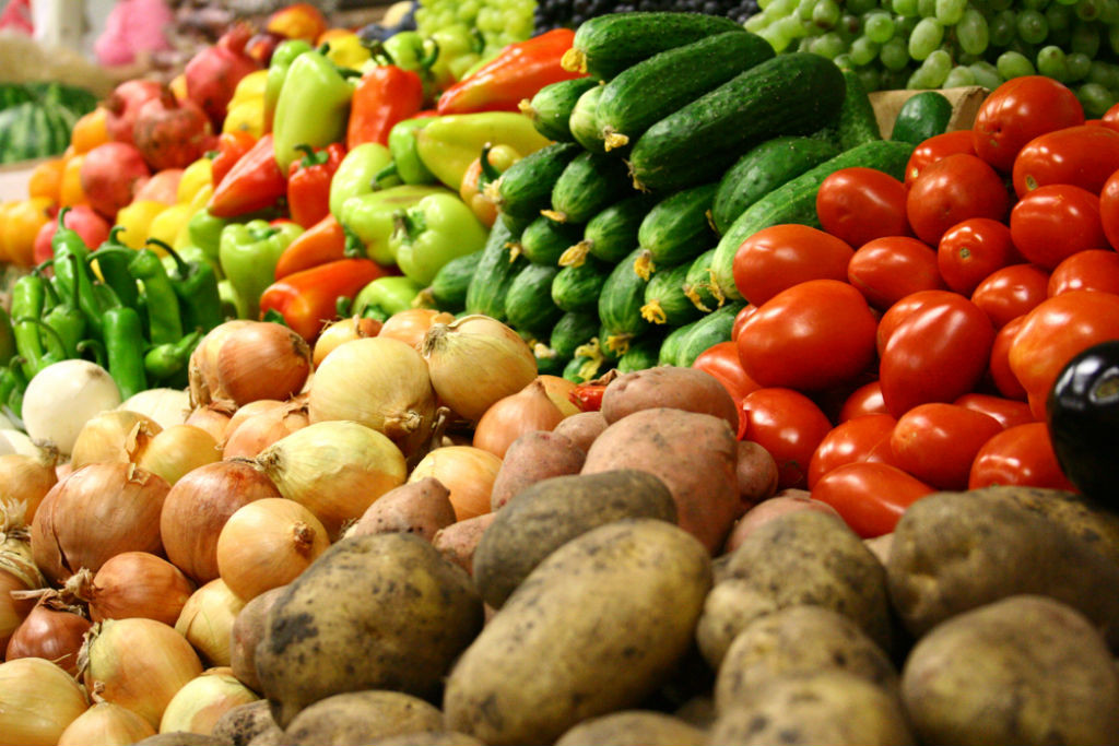 На осенних ярмарках Бобруйска овощи продают дороже, чем в гипермаркете.