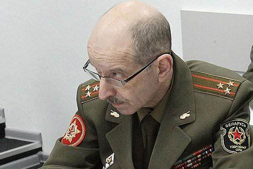 Пресс-секретарь Минобороны Беларуси, Владимир Макаров.