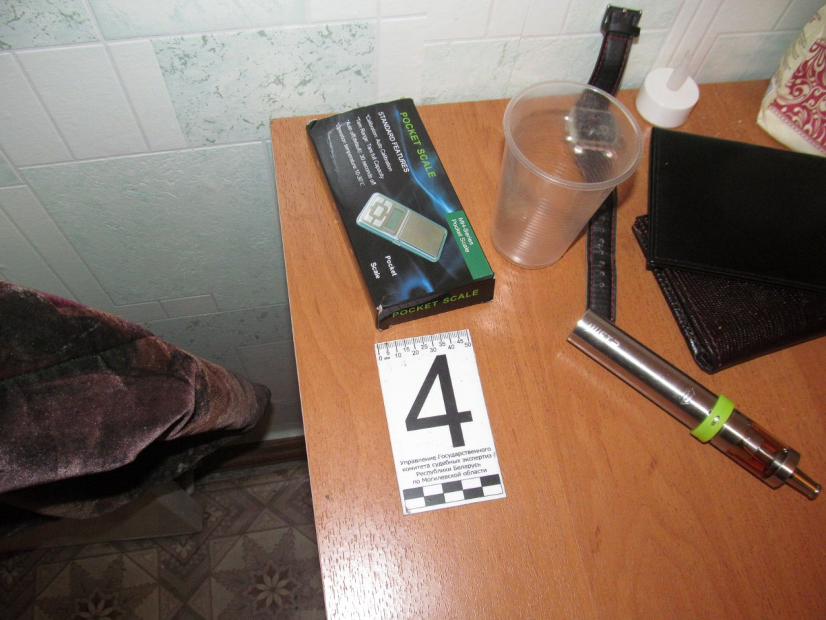 В Бобруйске наркоконтроль пресёк деятельность «нарколаборатории» на съемной квартире