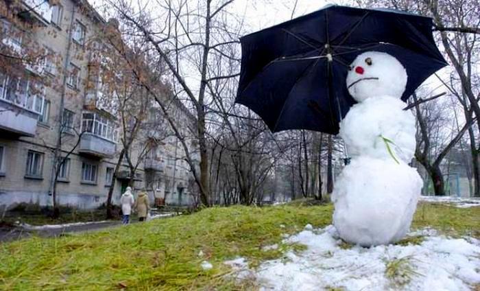 Зима задерживается: на неделе ожидается не по сезону теплая погода