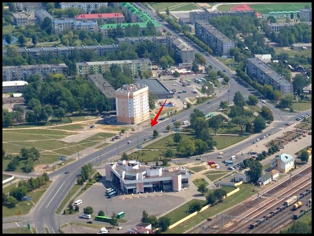 Страшное ДТП возле вокзала «Бобруйск»: водитель сбил троих бобруйчан