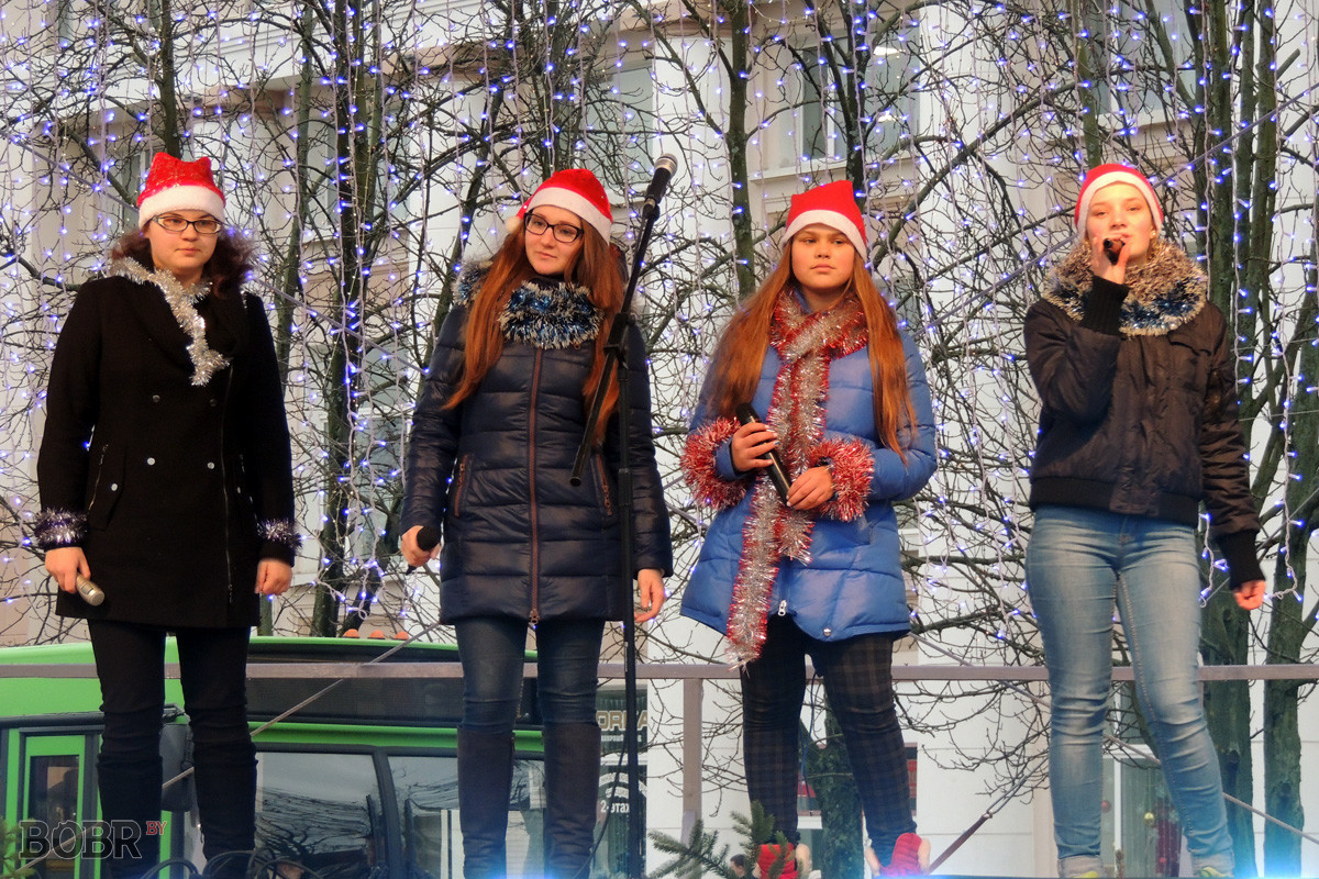 Старт новогодних праздников в Бобруйске