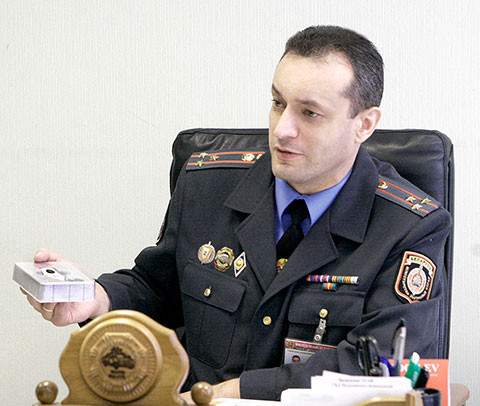 В  городе Бобруйске  личный прием граждан проведет начальник ГАИ Могилевской области.