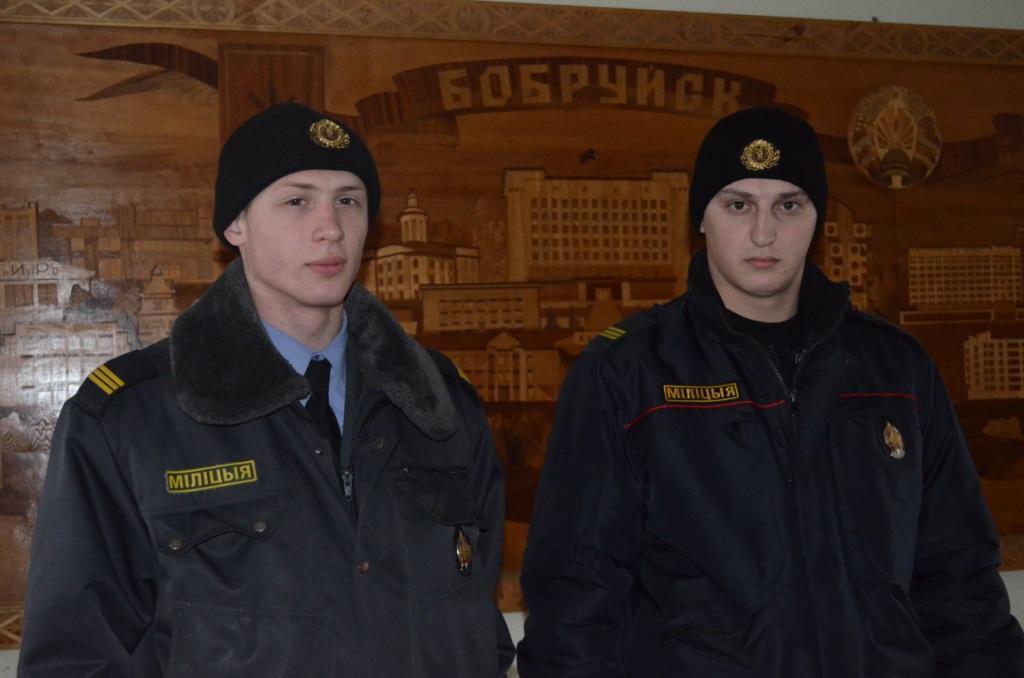 В Бобруйске наряд ППСМ УВД за 10 минут задержал злоумышленника по приметам
