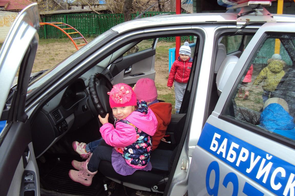ГАИ проводит «Неделю детской безопасности»