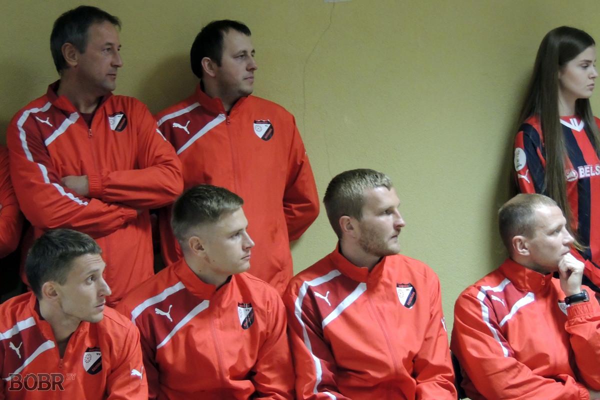 Презентация футбольной команды «Белшина»