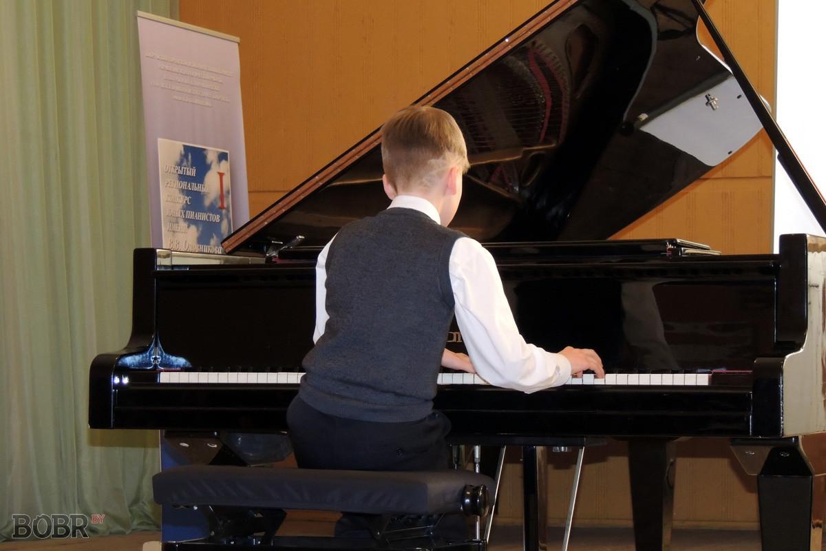 Технический конкурс пианистов