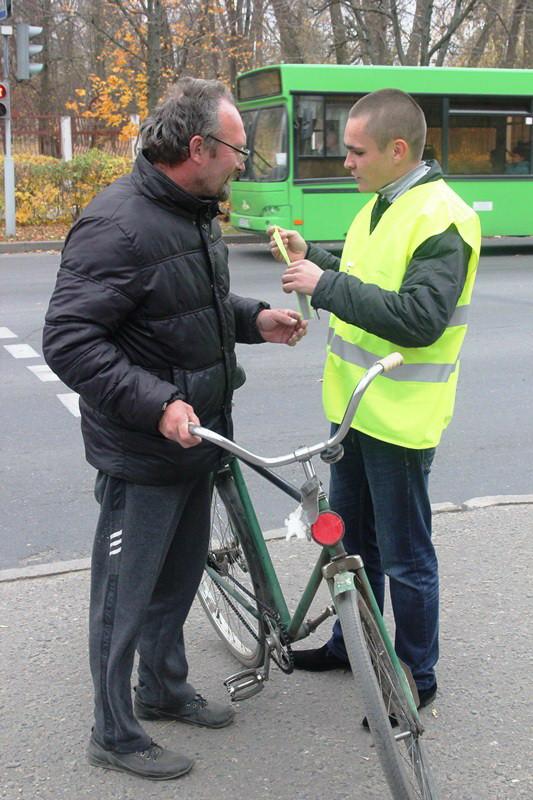 В Бобруйске проходит «Комплекс мероприятий по предупреждению ДТП с участием пешеходов и других незащищенных участников дорожного движения».