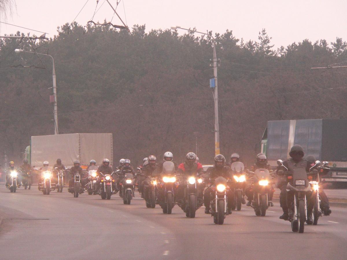 Осторожно! На дороге мотоциклы!