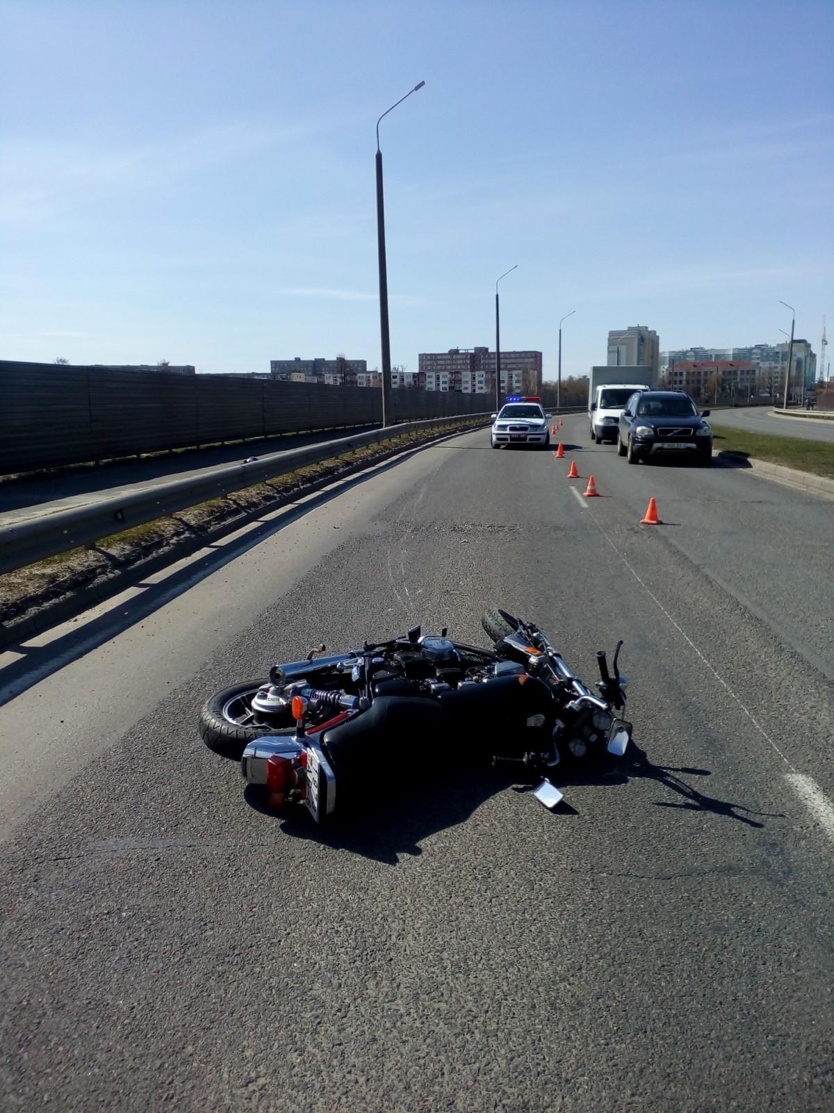 Дорожно-транспортное происшествие с тяжелыми последствиями, с участием мотоциклиста, произошло 3 апреля.