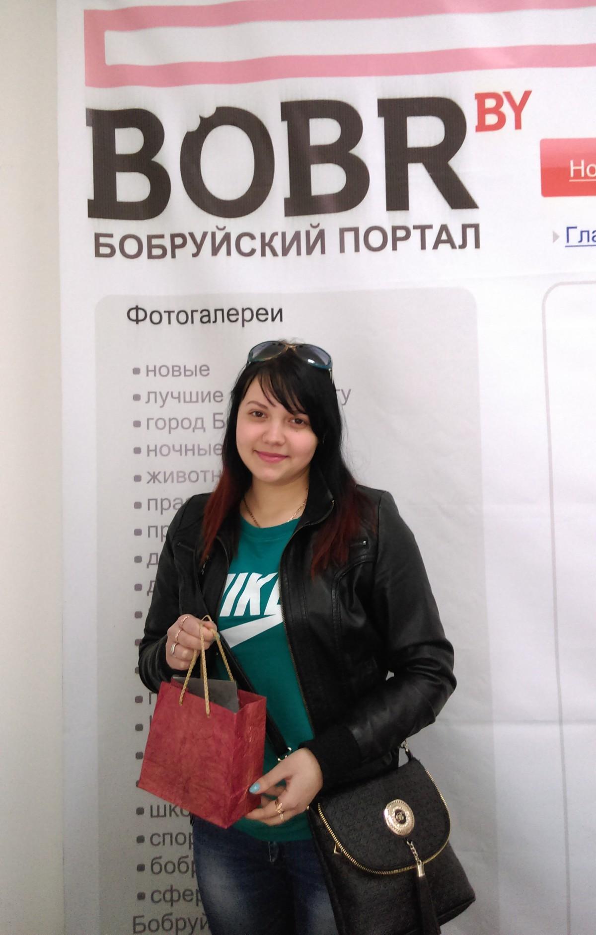 Победительница первоапрельского конкурса посетила офис BOBR.by