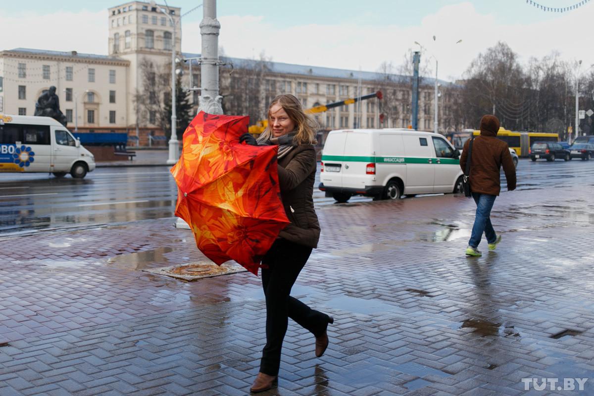Неделя будет дождливой, но температура останется выше нормы