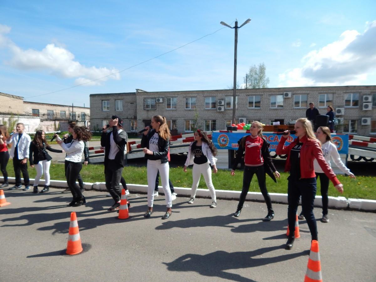 30 апреля 2016 года в Бобруйске прошла акция «Законопослушный мотоциклист – полноправный участник дорожного движения».