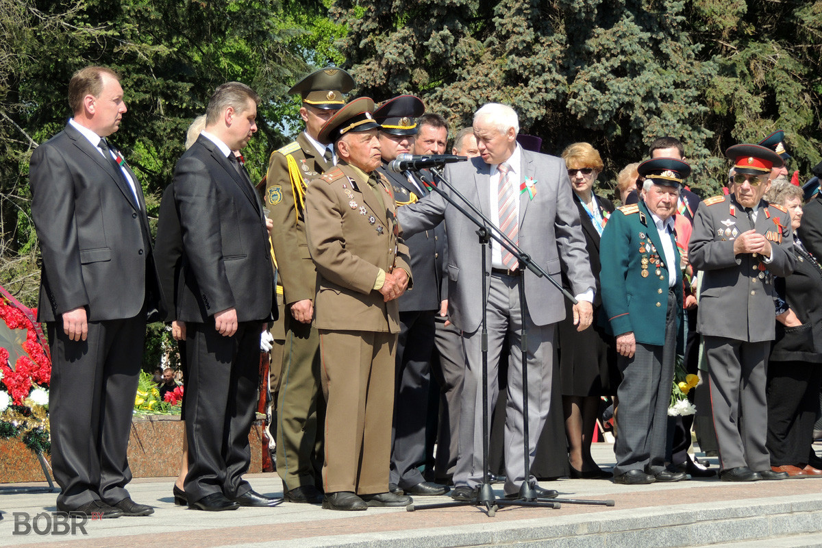 День Победы в Бобруйске