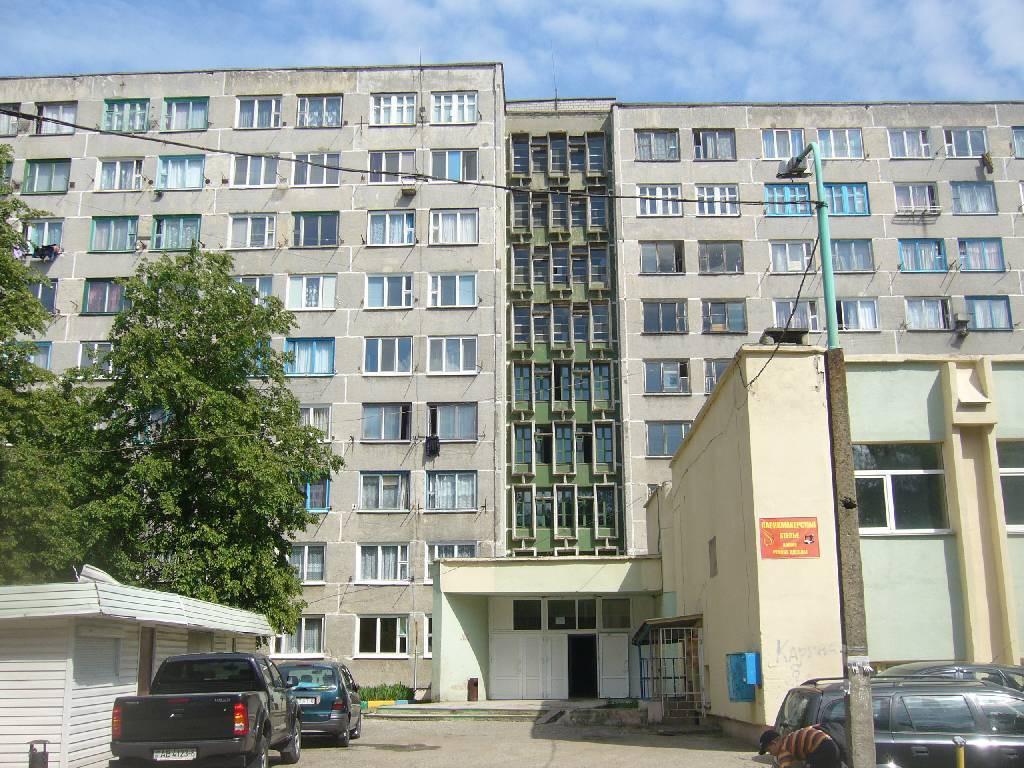 Пожар в общежитии на улице Ульяновская.