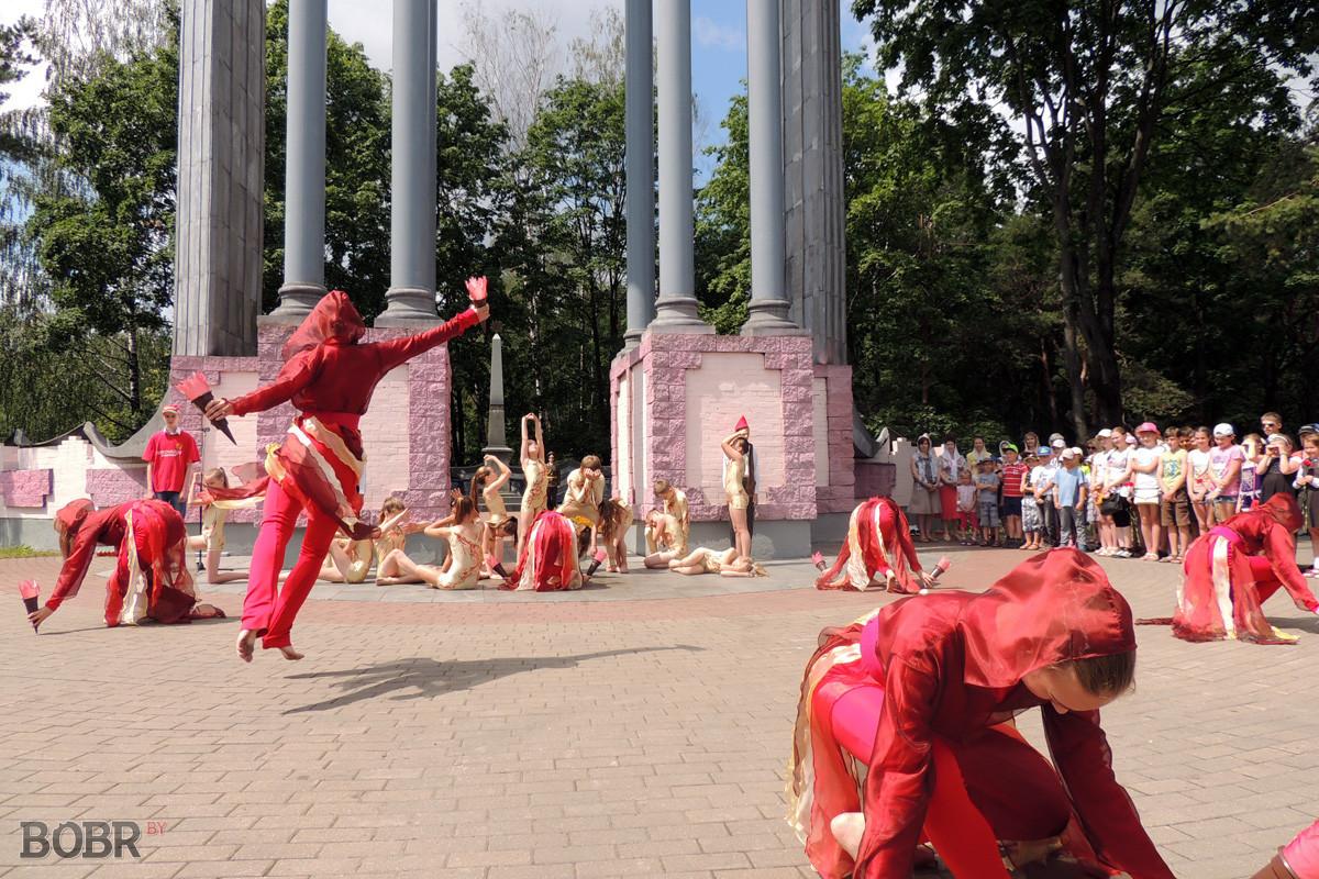 «Звон скорби» в Бобруйске